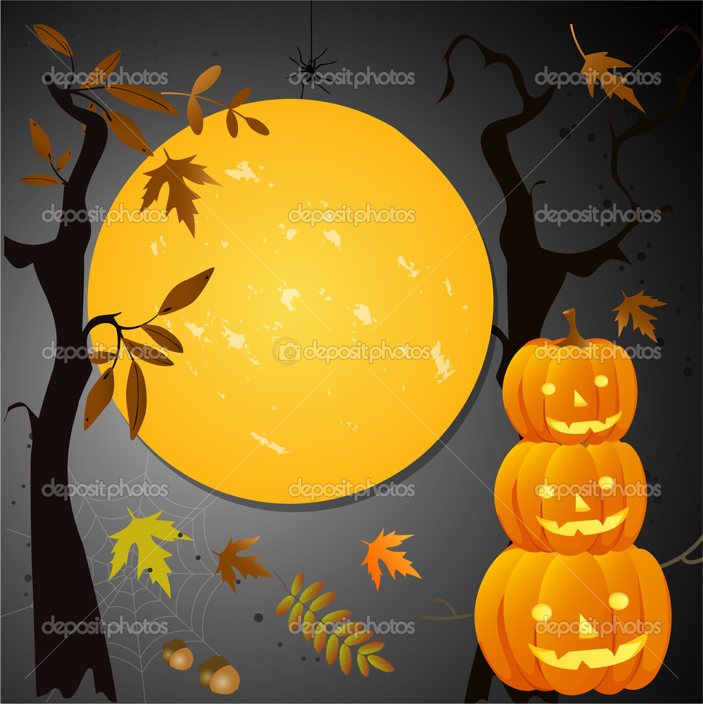 Halloween card — Stock Vector #16201519