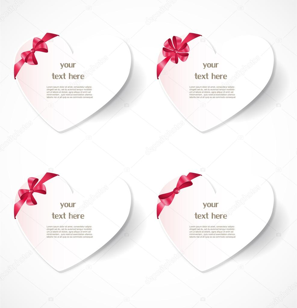 Valentine's day labels  Stock Vector #18525445
