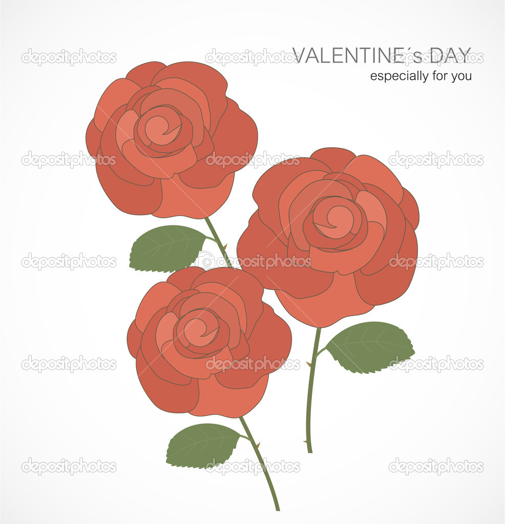 Valentine`s Day card — Stock Vector #18742839
