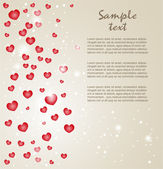 Valentine`s Day card — Stock Vector