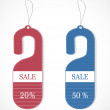 Discount tags — Stock Vector