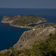 Assos peninsula on Kefalonia — Stock Photo