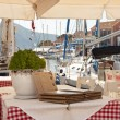 Greek taverna - Stock Photo