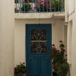 Skiathos town street — Stock Photo