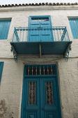 Skiathos town house — Stock Photo