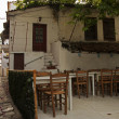 Stock Photo: Skiathos street taverna