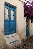 Greek house — Stock Photo