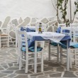 Greek taverna — Stock Photo