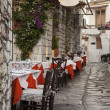 Stock Photo: Street taverna
