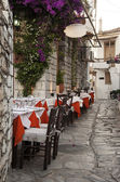 Street taverna — Stock Photo