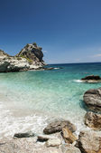Agios Ioannis beach — Stock Photo