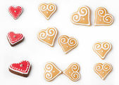Cookie hearts — Stock Photo