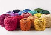 Colorful yarns — Foto Stock