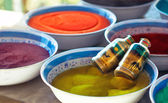 Colourful sand — Stock Photo