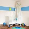 Baby nursery with bed — Stock Photo #5713759