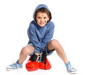 Cute boxer — Photo