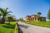 Tuscan landhouse / villa — Stock Photo