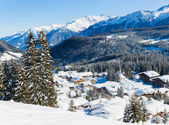 Cottages at the Austrian Alps — Stock Photo