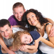 Beautiful happy family — Stock Photo #16336613