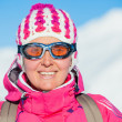 Young womin ski wear — Stock Photo #16668053