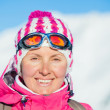 Young womin ski wear — Stock Photo #16771207