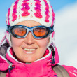 Young womin ski wear — Stock Photo #17133639