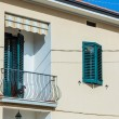 Mediterranean house exterior — Stock Photo