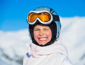Young girl in a ski wear — Stock Photo