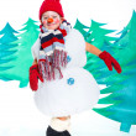 Snowman — Stock Photo #17820593