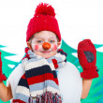 Snowman — Stock Photo #17820835