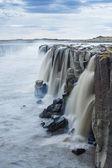 Wodospad selfoss, islandia — Zdjęcie stockowe
