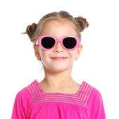 Studio portrait of cute little girl — Stock Photo