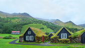 Iceland Tradition Houses — Stock Photo