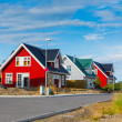 Cottages  iceland — Stock Photo