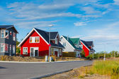 Cottages iceland — Foto Stock