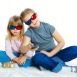 Royalty-Free Stock Photo: Little Girl With 3D Glasses