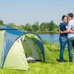 Holiday camping — Stock Photo #21120561