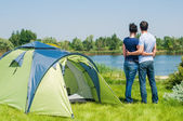 Holiday camping — Stock Photo