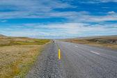 Route vers nulle part. islande — Photo