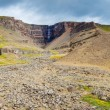 Hengifoss waterfall in Iceland — Stock Photo #21711213
