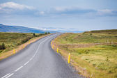 Road To Nowhere. Iceland — Stock Photo