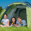 Family camping — Stock Photo #21824411