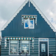Facade of a typical house in Marken, Netherlands, a small fisherman's town. — Stock Photo #22922222