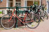 Holländska cyklar — Stockfoto