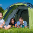 Family camping — Stock Photo #23011338