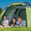 Family camping — Stock Photo #23011352