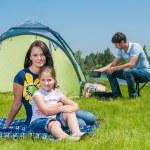 Family camping — Stock Photo #23011362