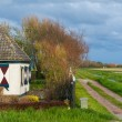 Traditional dutch village — Stock Photo