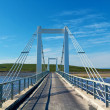 Stock Photo: Bridge over icelands j ...