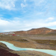 Geothermal area near myvatn — Stock Photo